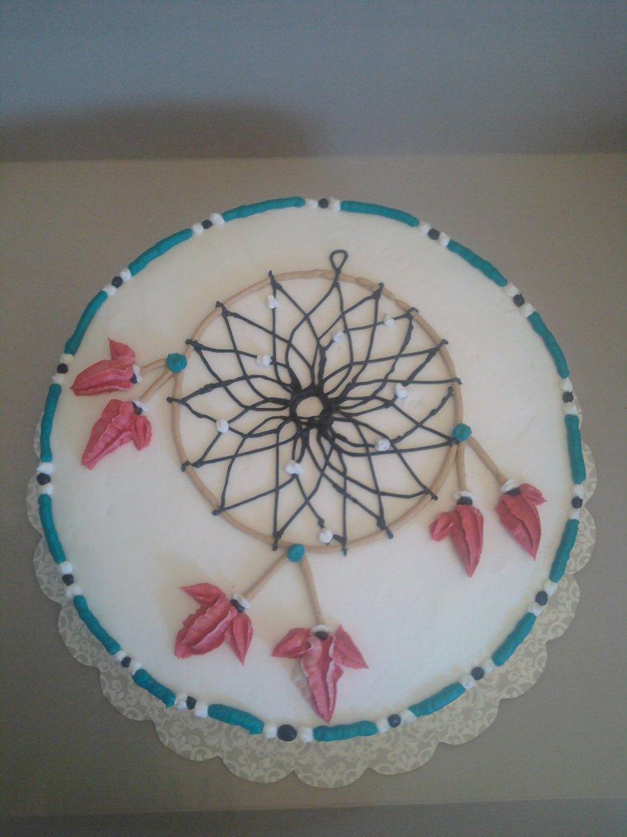 Dream Catcher Wedding Cake