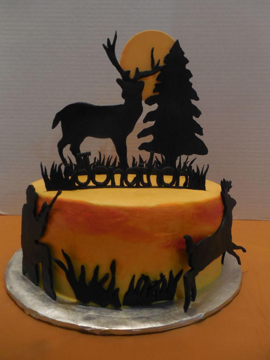 Deer Hunting Cake Cakecentral Com