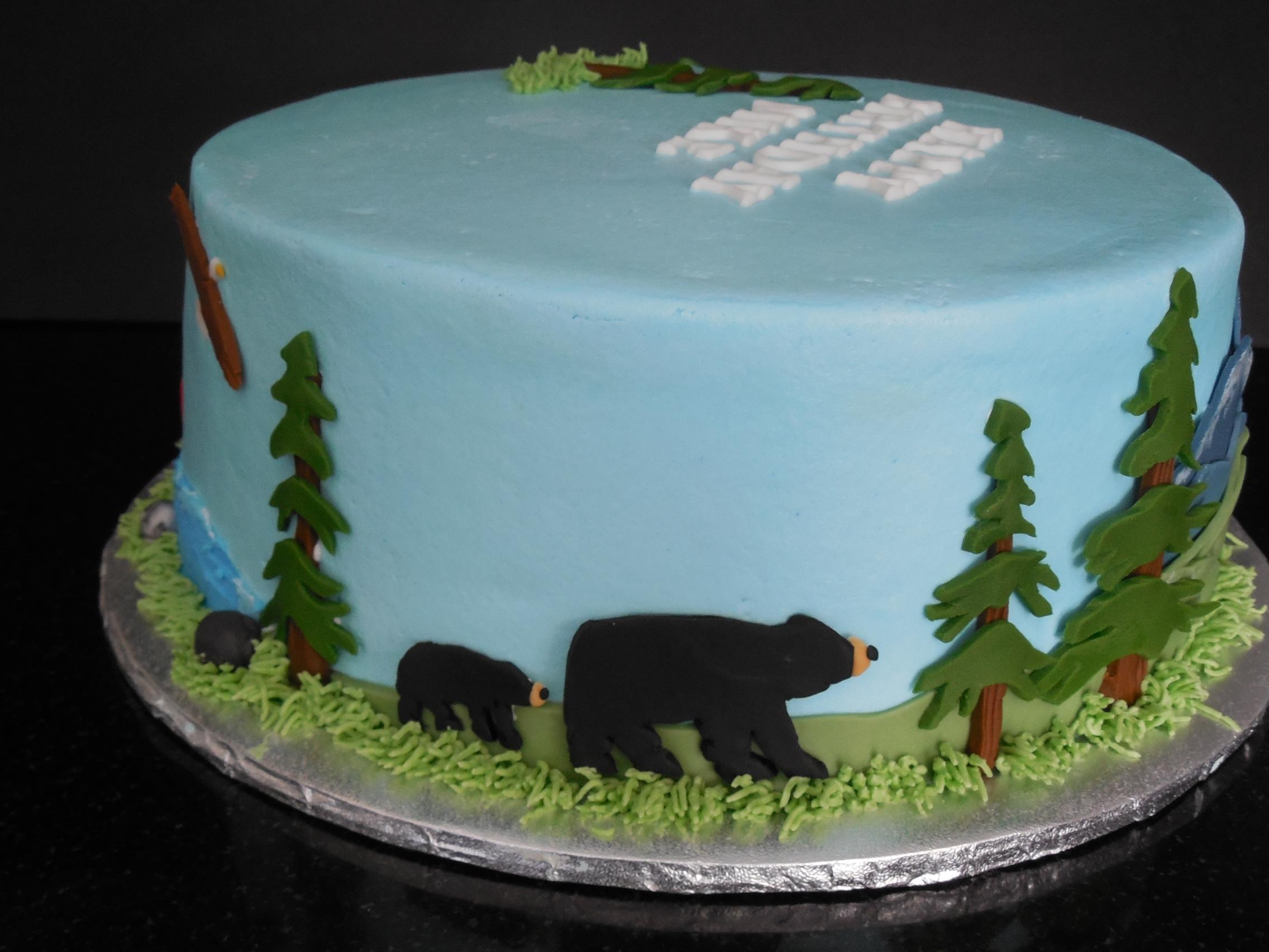 Northwest Tales Birthday Cake Cakecentral Com