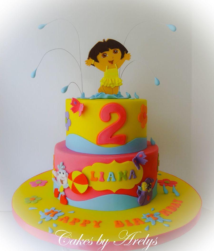 Dora Cake Pic
