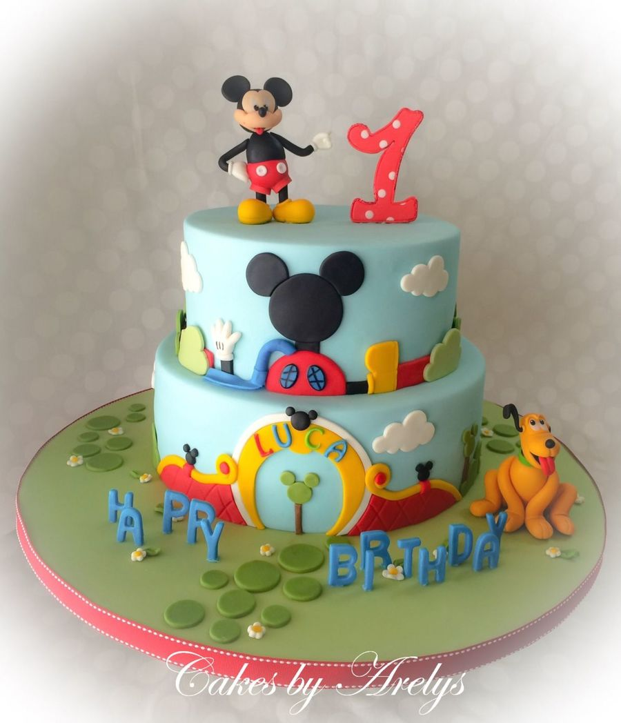 Disney Clubhouse Birthday Cakes