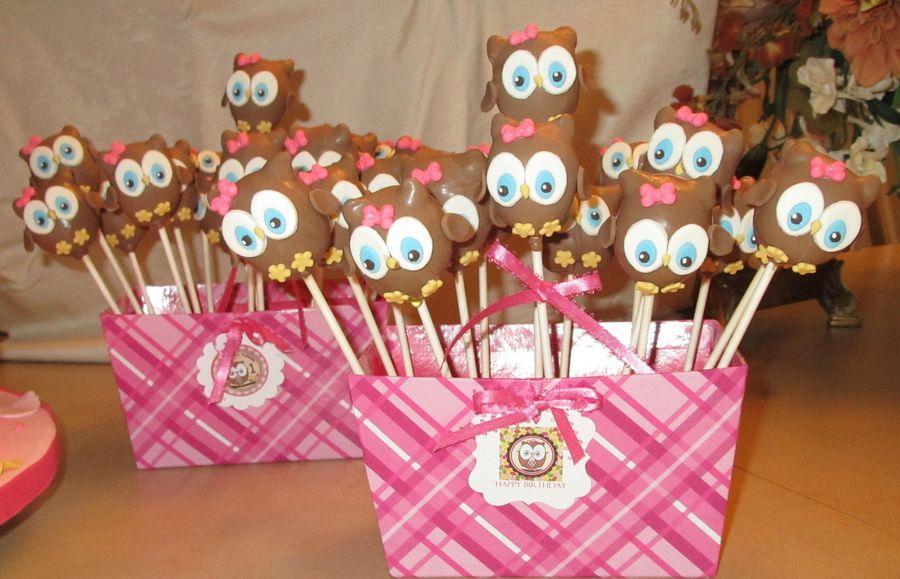 Owl Cake Pops - CakeCentral.com