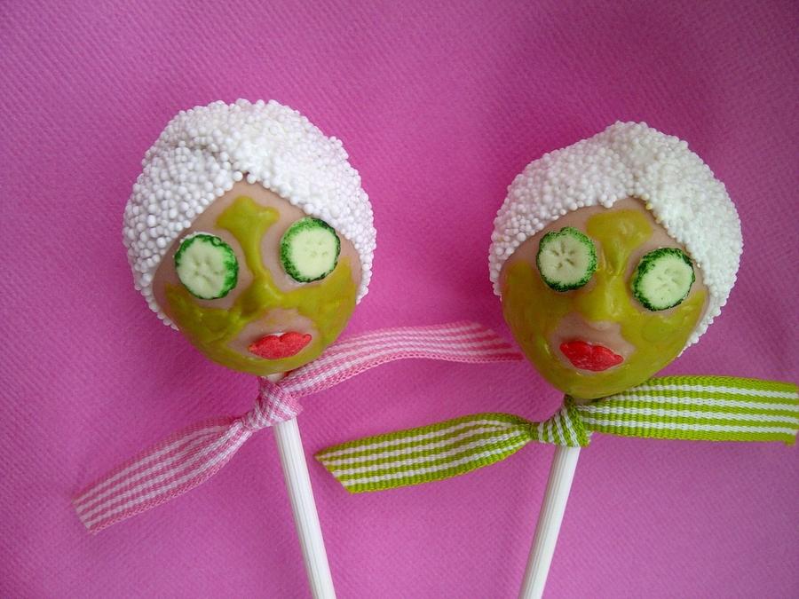 Pamper Party Cake Pops - CakeCentral.com