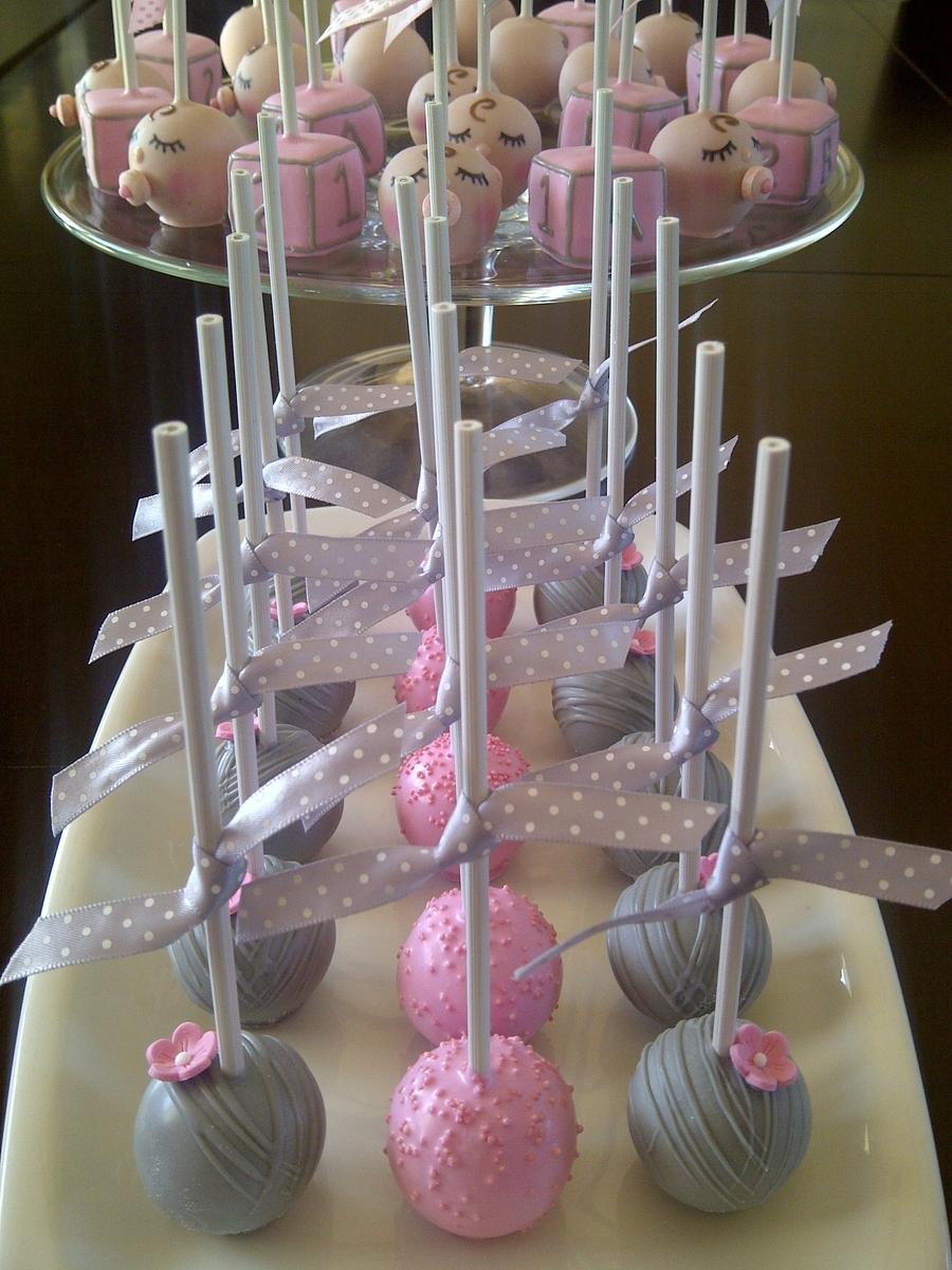 Baby Shower Cake Pops Cakecentral Com