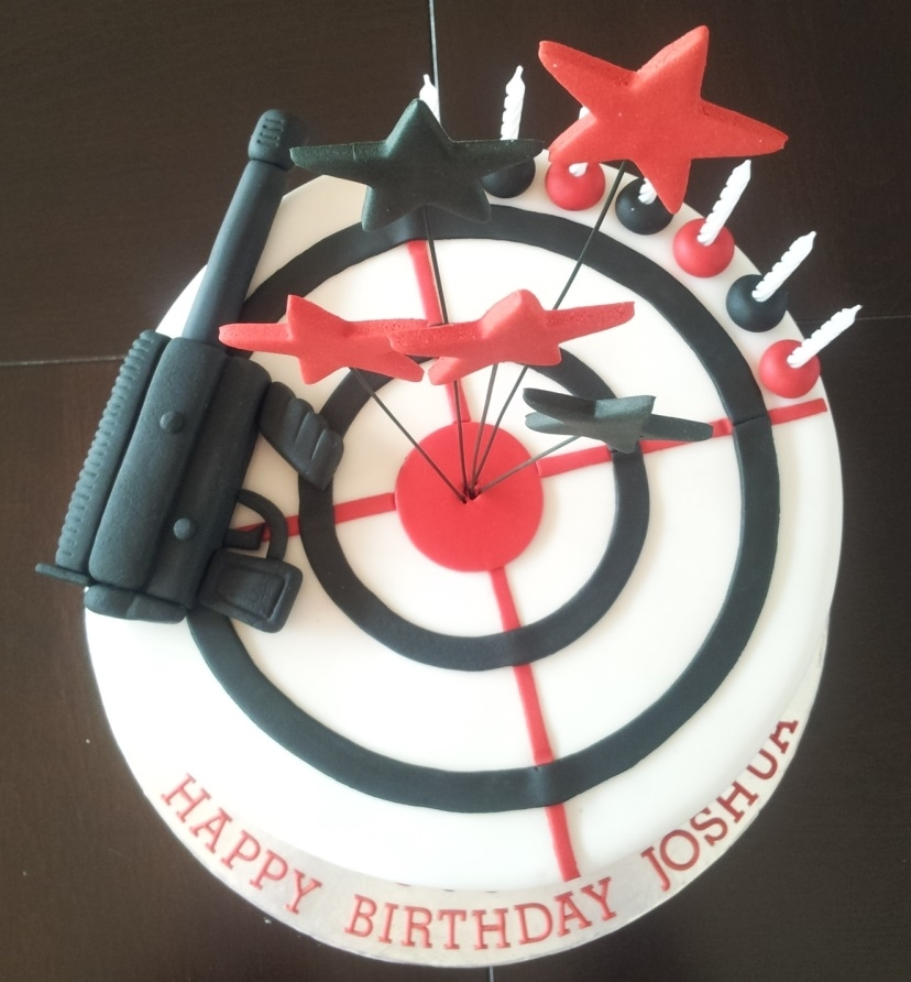 Laser Tag Themed Boys Birthday Cake Cakecentral