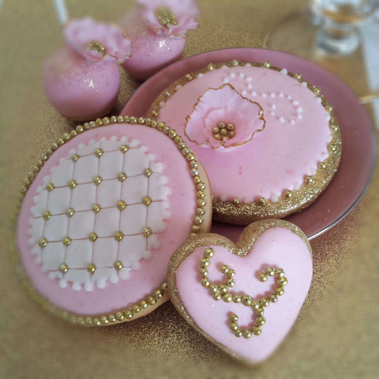 how to make pink cookies