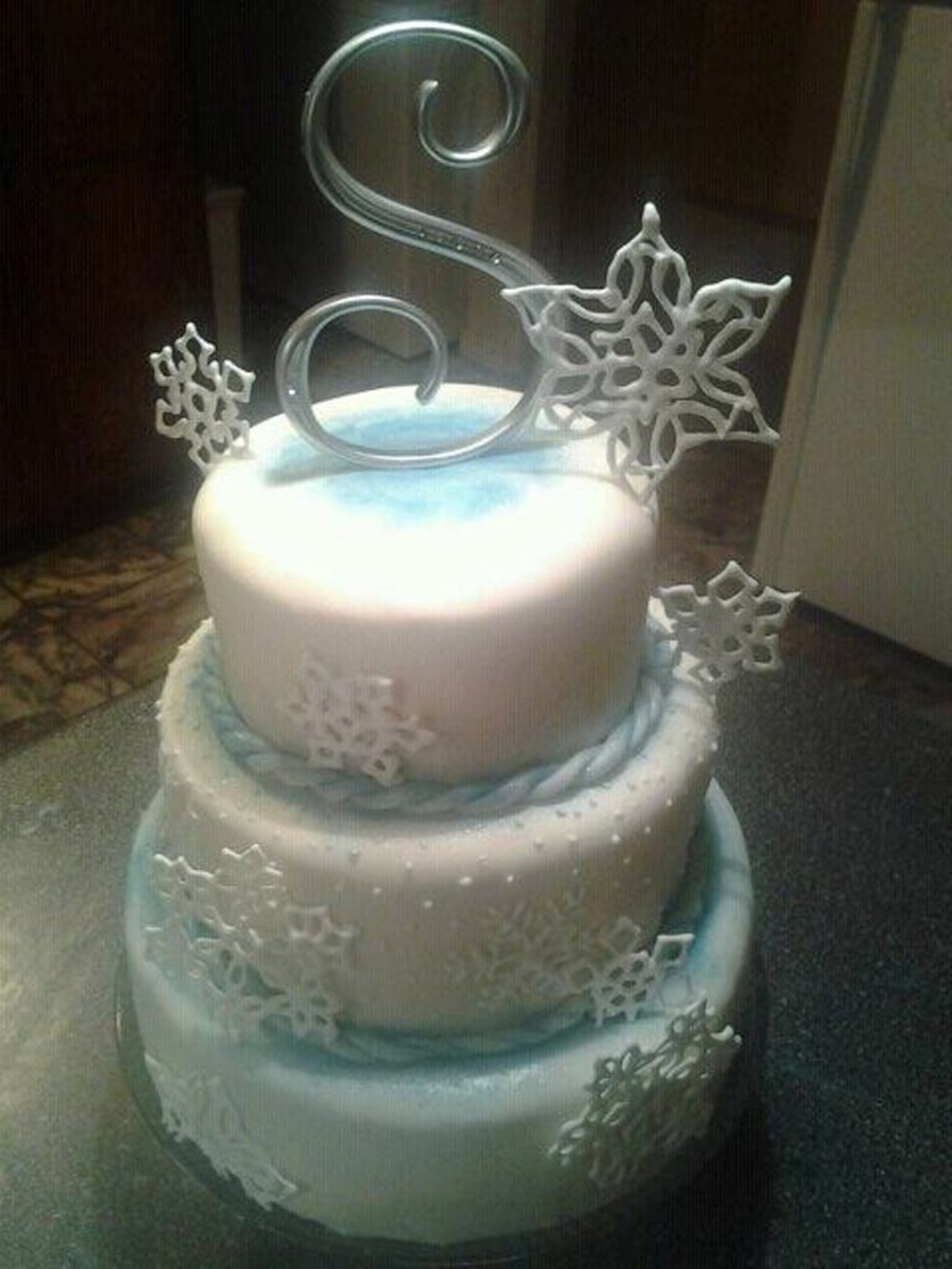 Winter Birthday on Cake Central