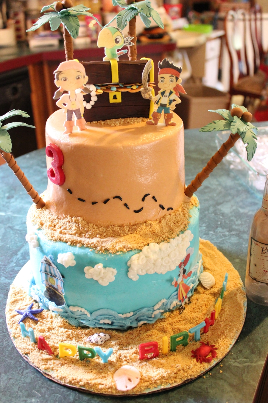 Cake Decorting Ideas Jake And The Neverland Pirates