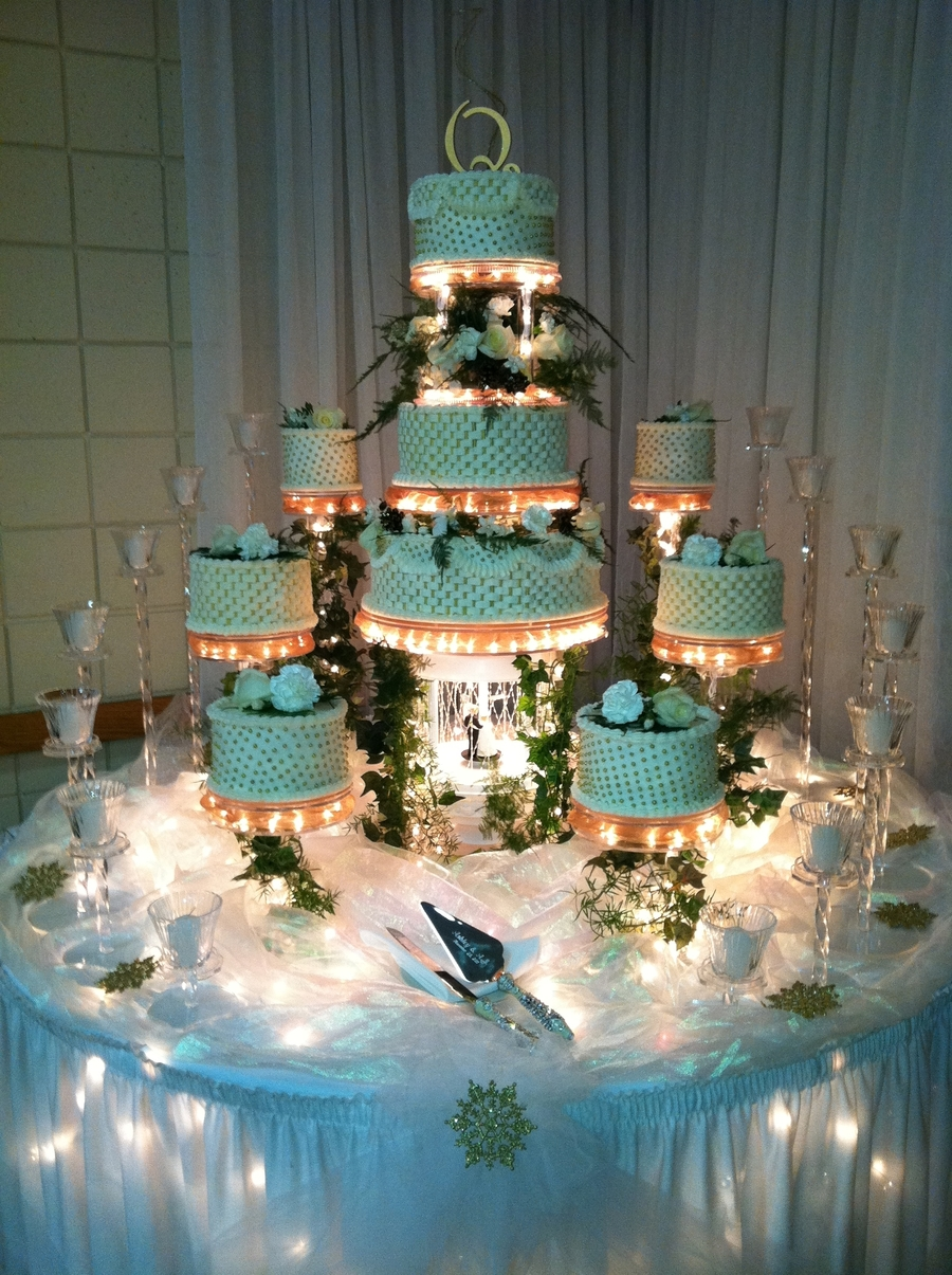 Lighted Elegance on Cake Central