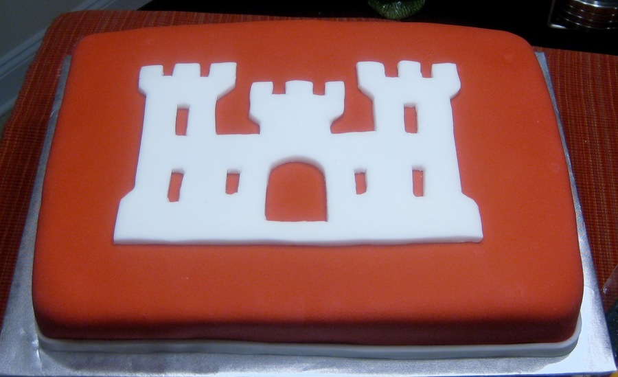 Army Corps Of Engineers Logo Cakecentral Com