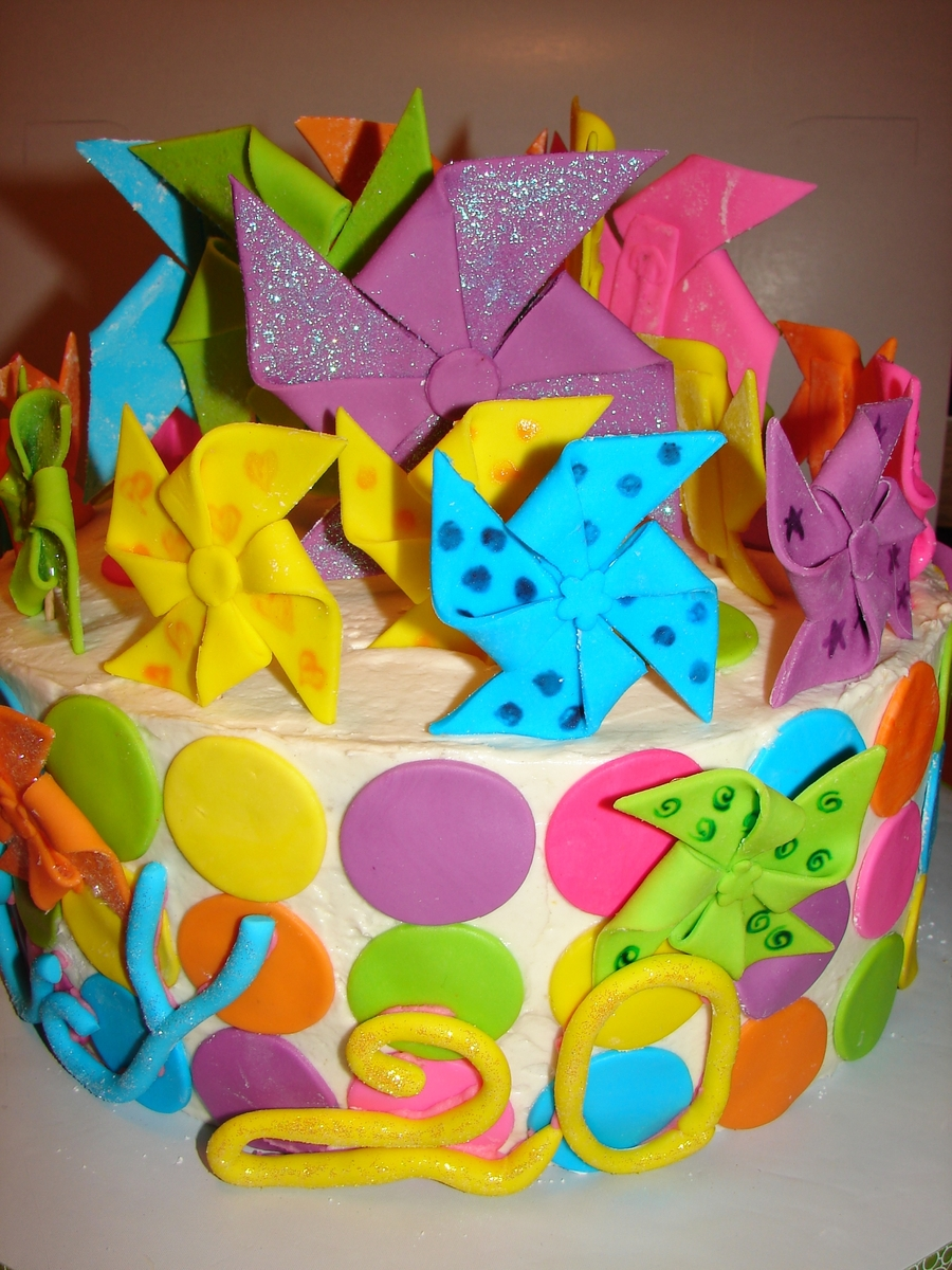 Pinwheels on Cake Central