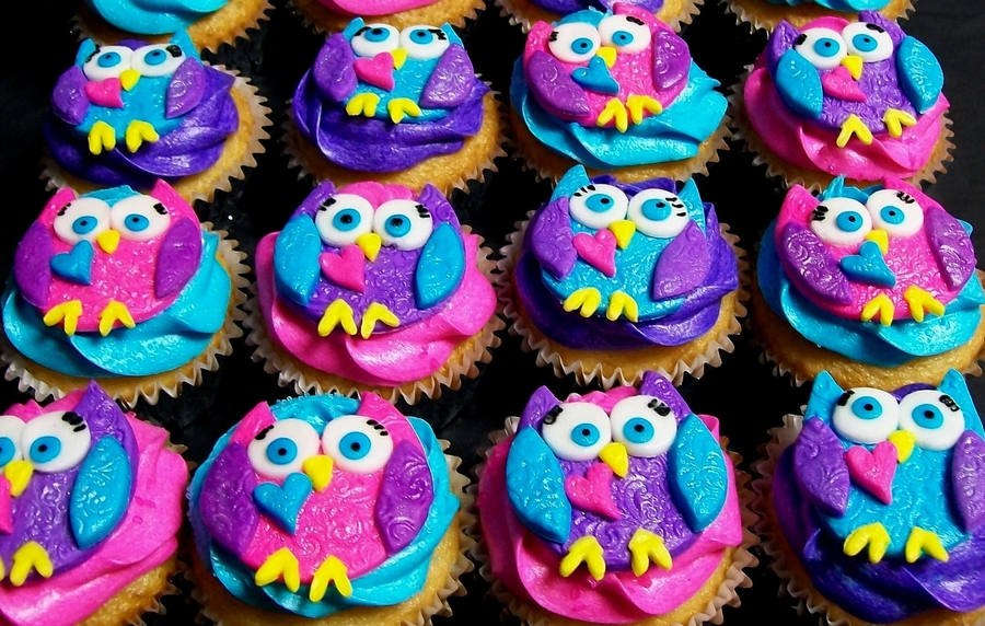 Owlette Cupcakes! on Cake Central