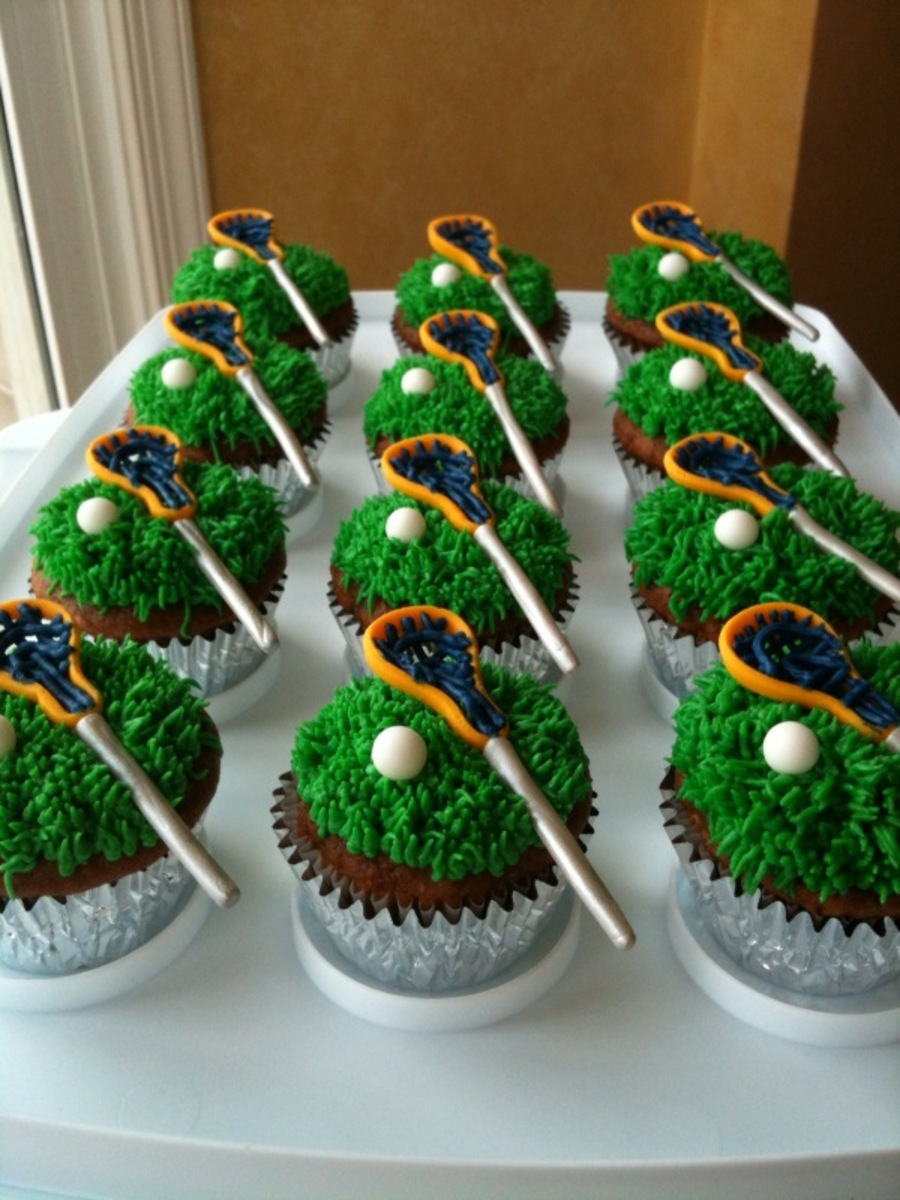 Lacrosse Cupcakes Cakecentral Com