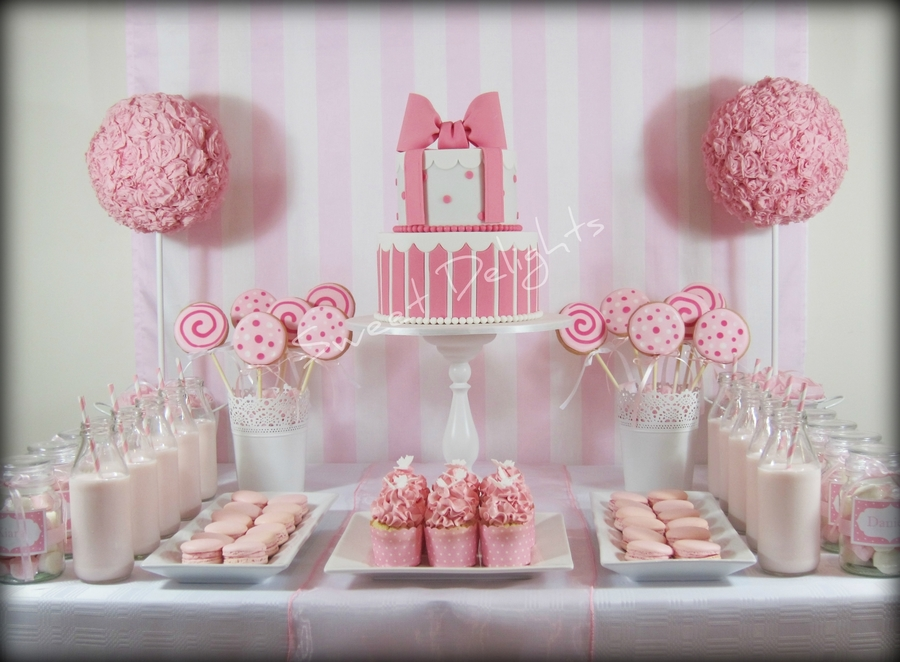 Pink And White Party Cakecentral Com