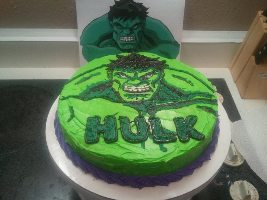 Incredible Hulk Birthday Cake Recipes
