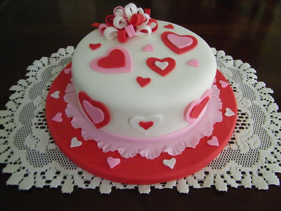 Valentine S Day Cake Cakecentral Com