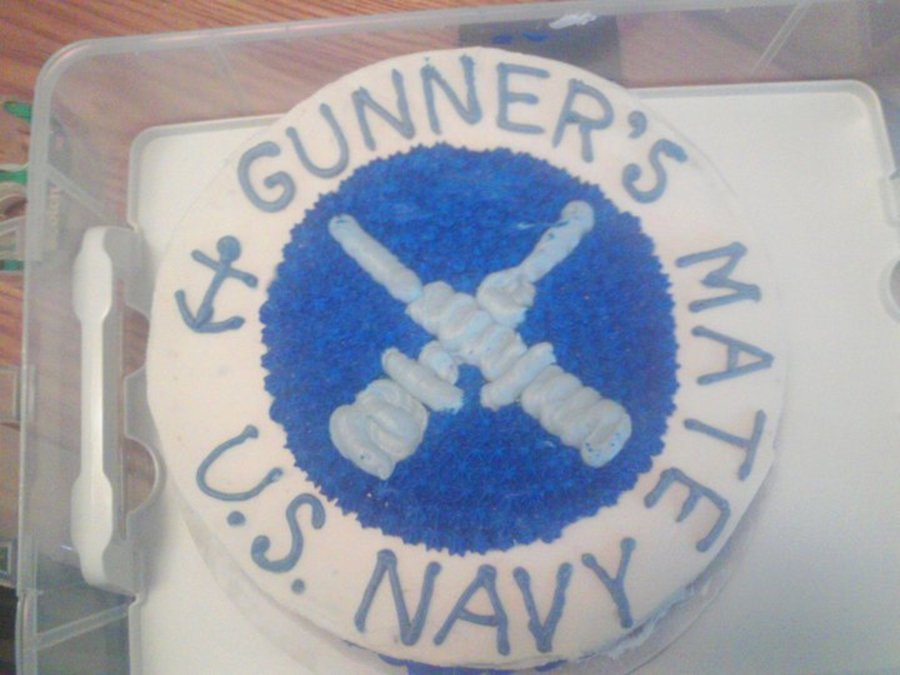 Gm Us Navy on Cake Central