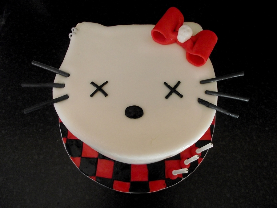 Goodbye Kitty on Cake Central