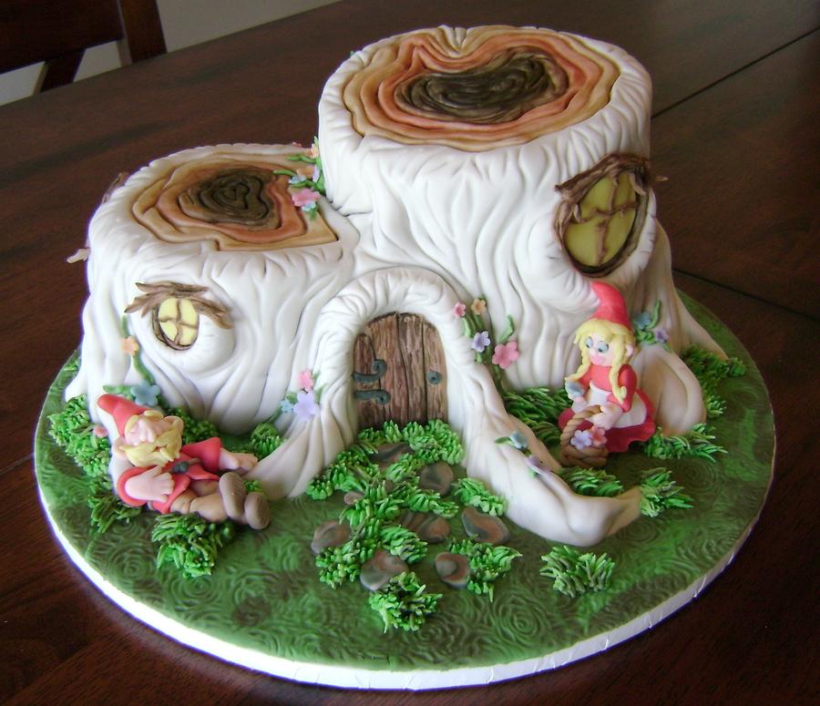 Gnome Cake Decorations