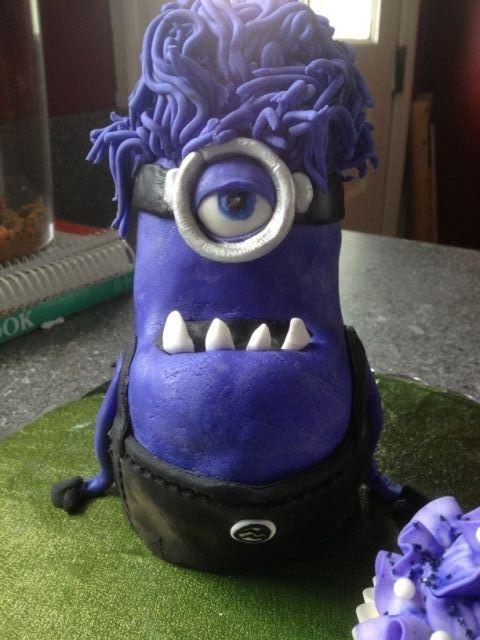 Evil Purple Minion And Yellow Minion Birthday (Despicable ...