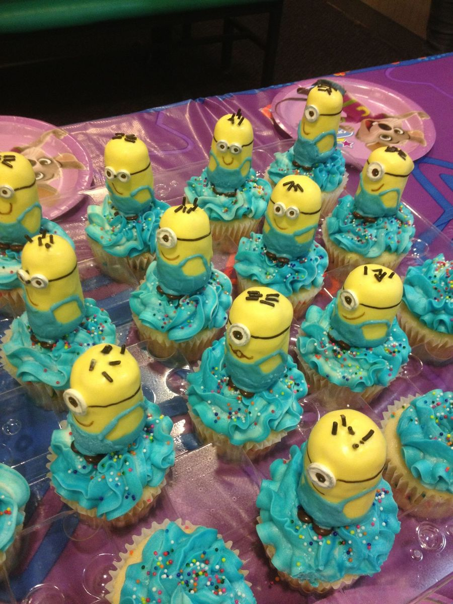 Evil Purple Minion And Yellow Minion Birthday Despicable