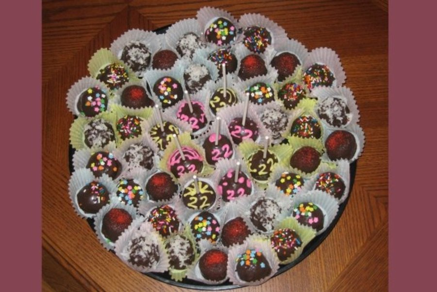 Cake Ball Tray on Cake Central