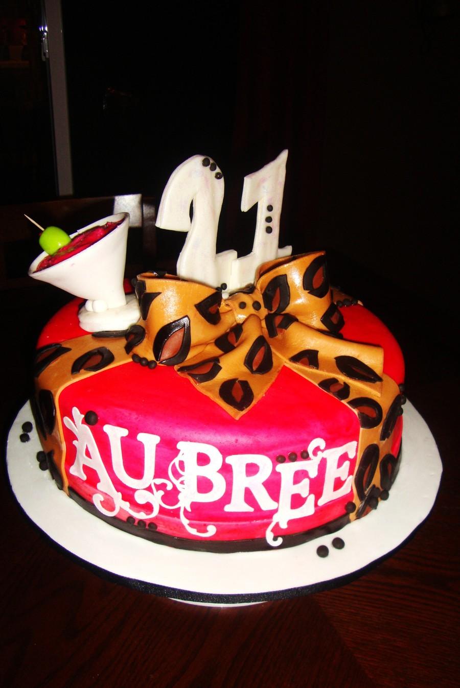 Cheetah Birthday Cake Photos