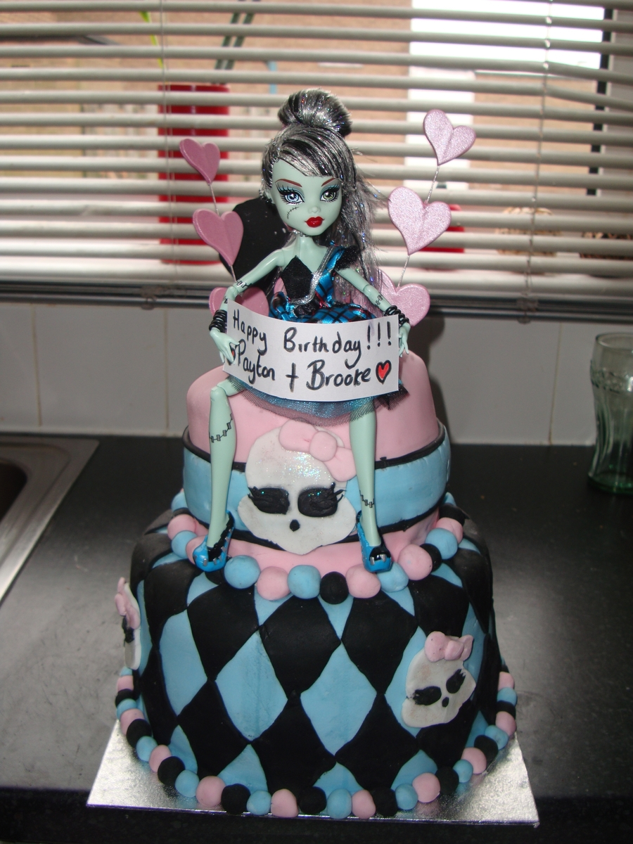 Monster High Cake Cakecentral