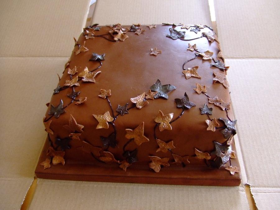 Wonderful World of Cupcakes: Chocolate Wedding Cake