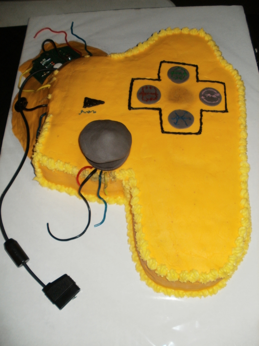 Broken Video Game Controller Cakecentral Com