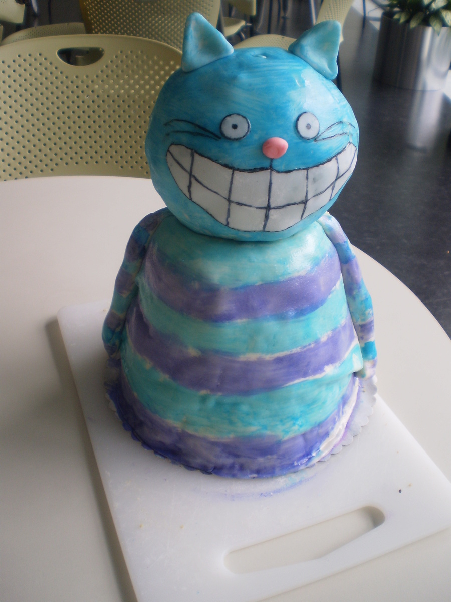 The Cheshire Cat on Cake Central