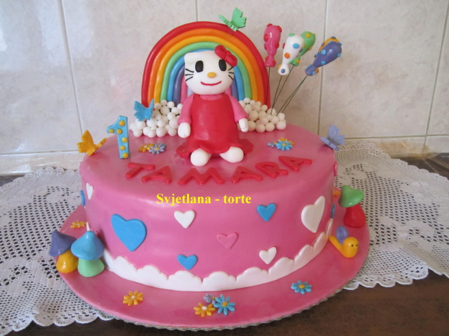 Hello Kitty 3 on Cake Central