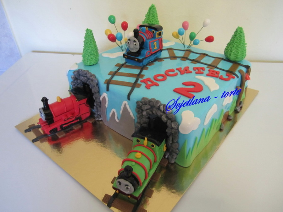 Thomas And Friends CakeCentral