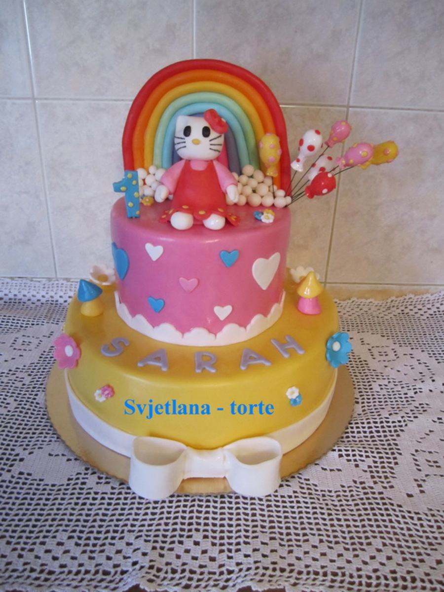 Hello Kitty 1 on Cake Central