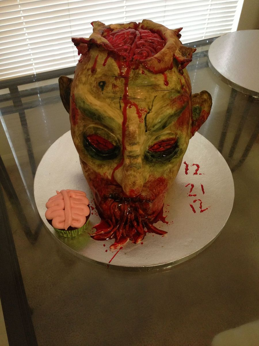 Zombie Cake on Cake Central