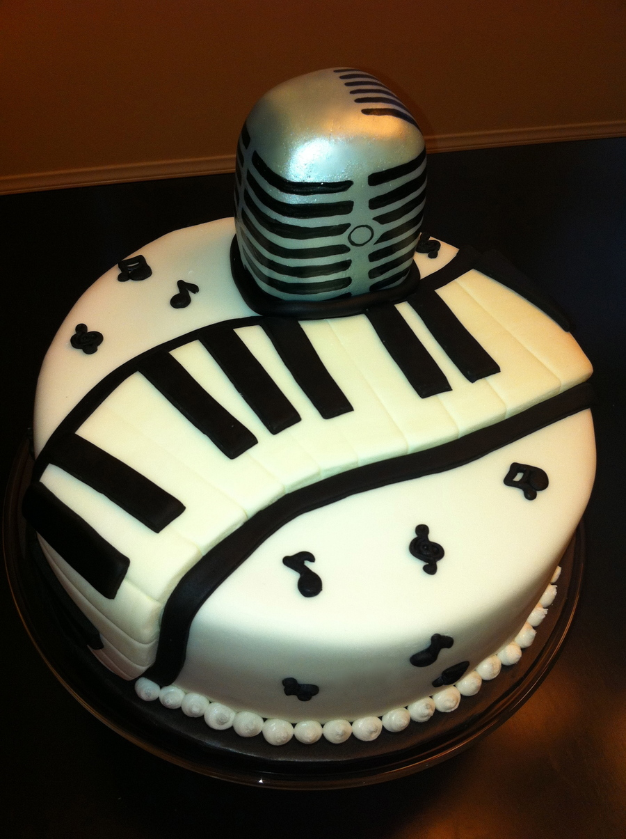 Musical Birthday Cake Cakecentral