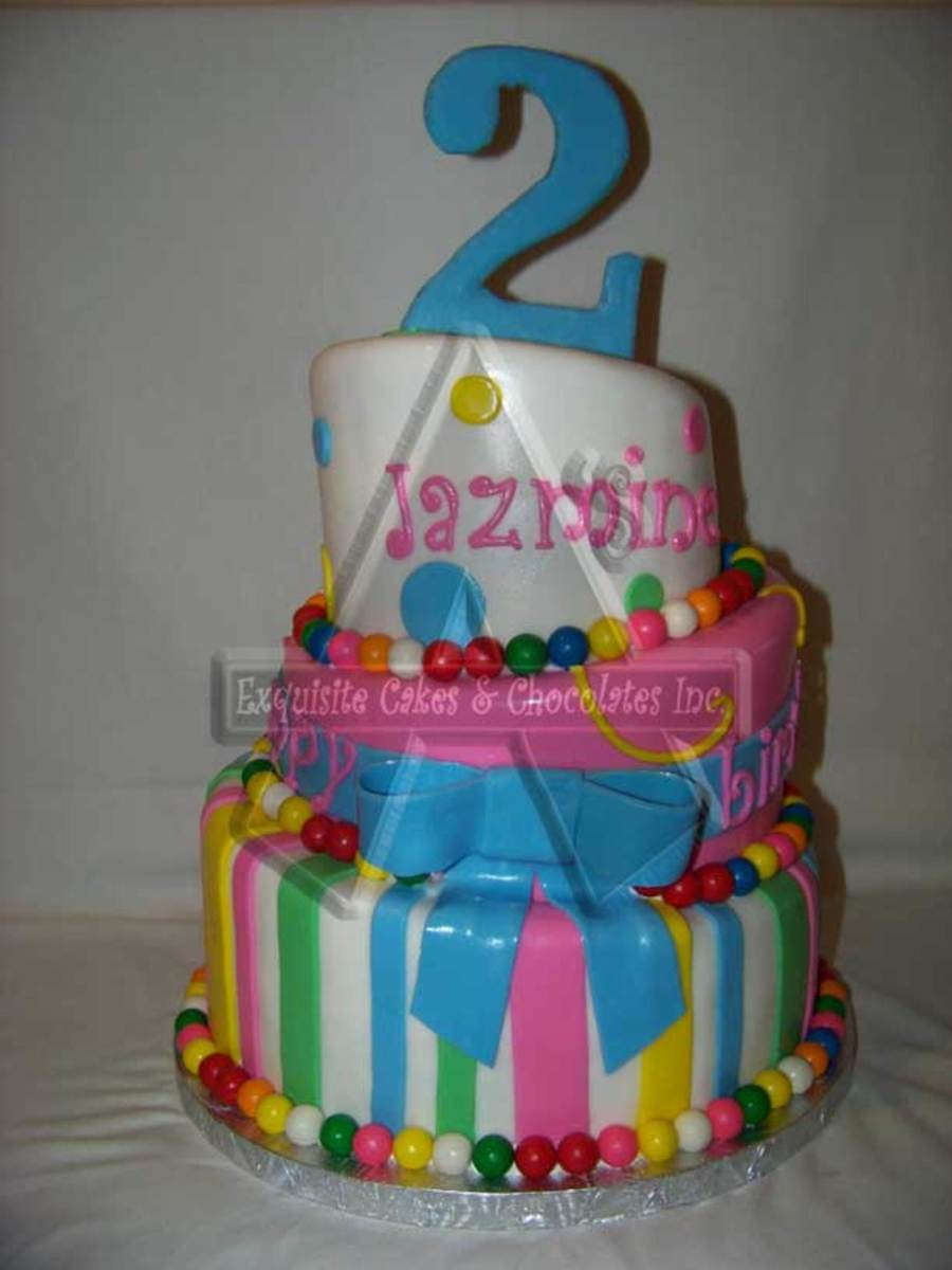 2nd Birthday Cake Cakecentral