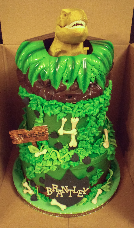 Dinosaur T Rex Cake Cakecentral Com