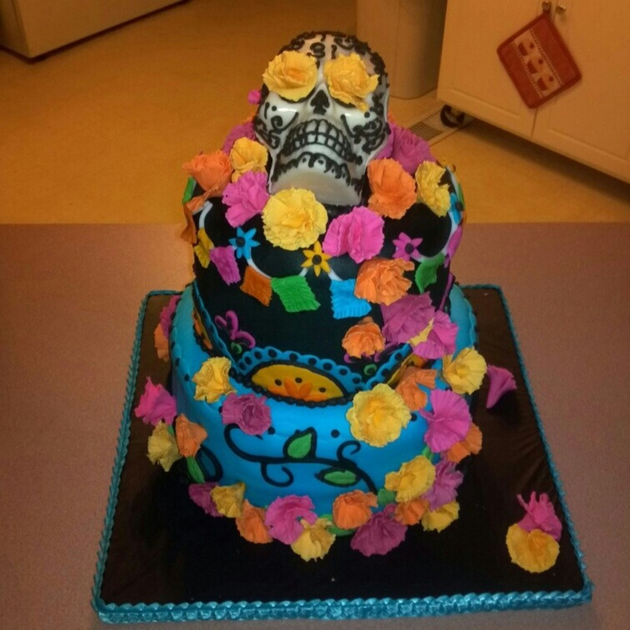 Dia De Los Muertos Birthday Cake Cakecentral
