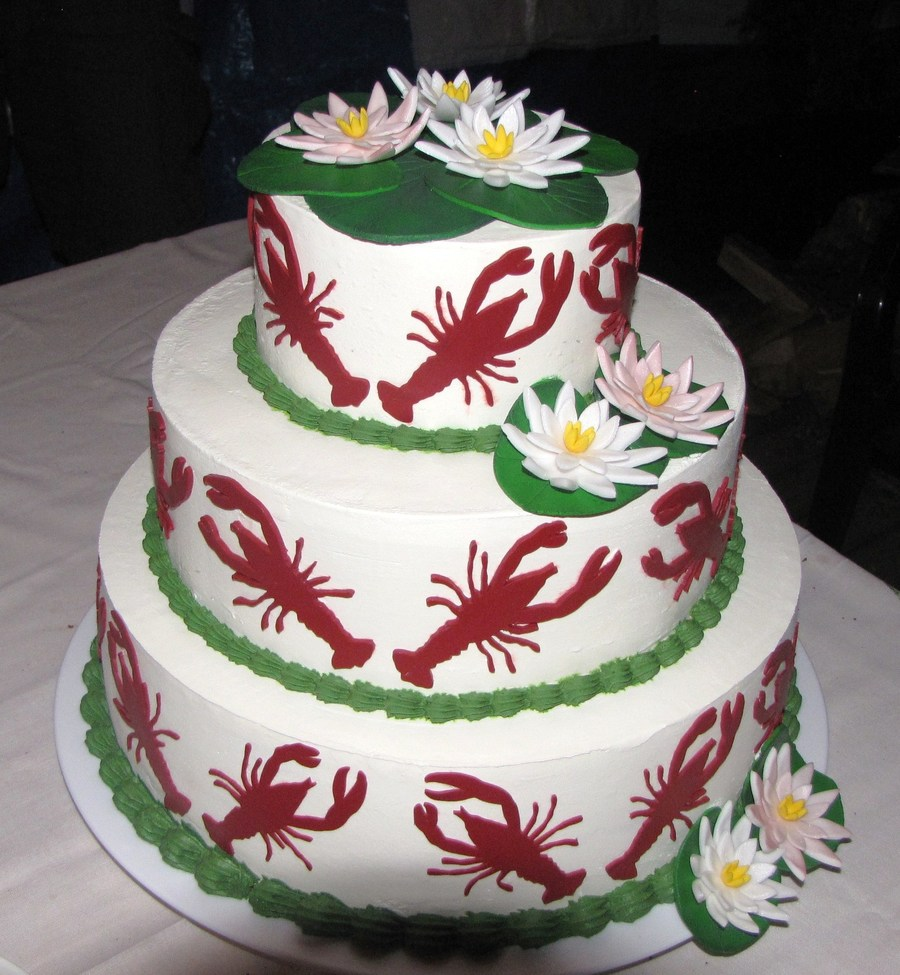 Crayfish-Party Cake on Cake Central