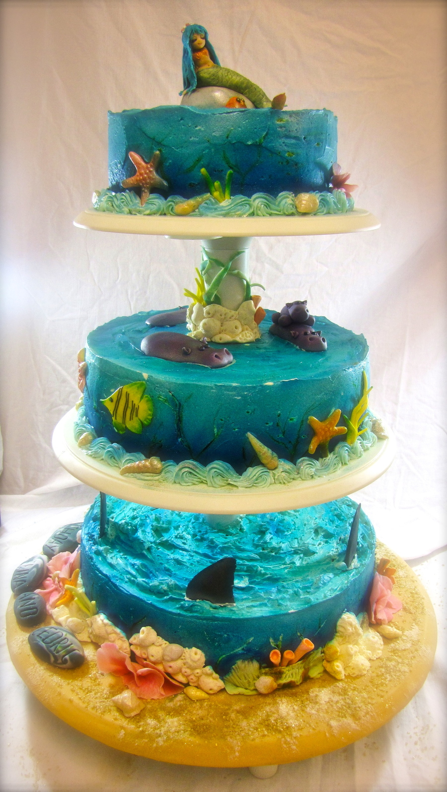 Underwater World Cake on Cake Central
