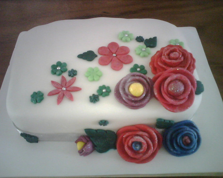 Sugar Flowers  on Cake Central