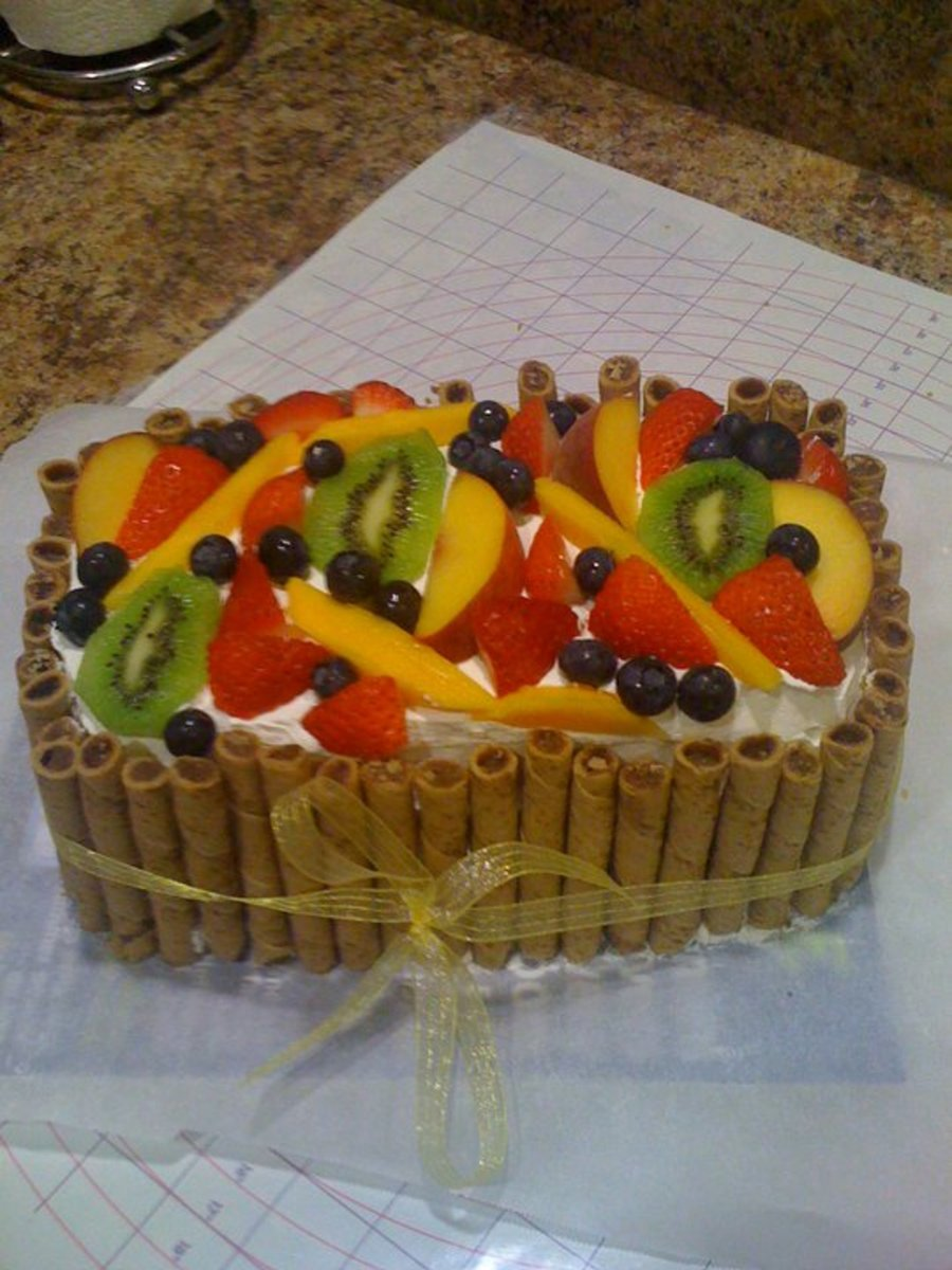 Angel Food With Fresh Fruit on Cake Central