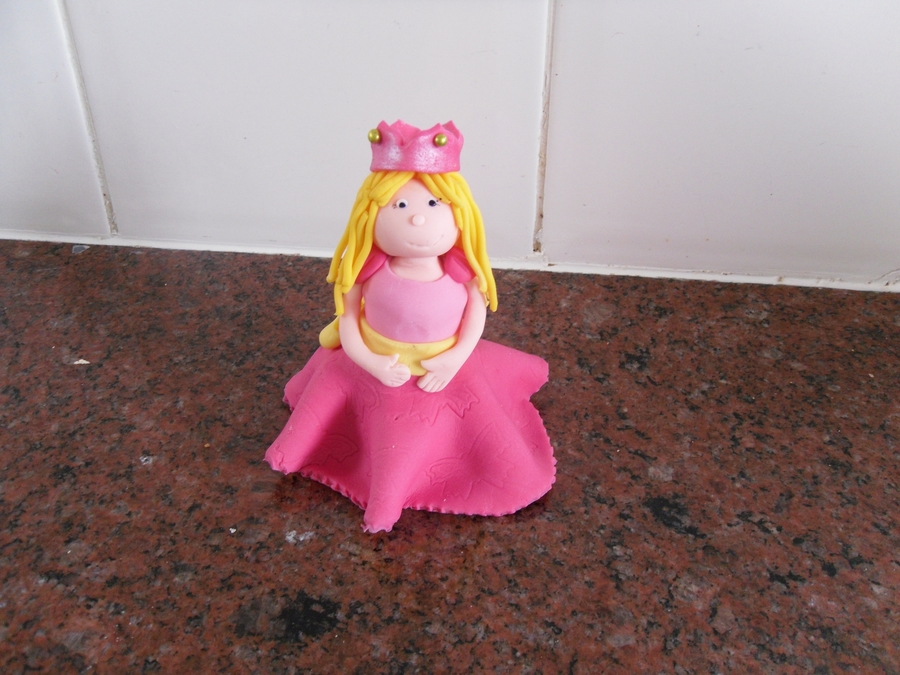Princess Cake Topper  on Cake Central