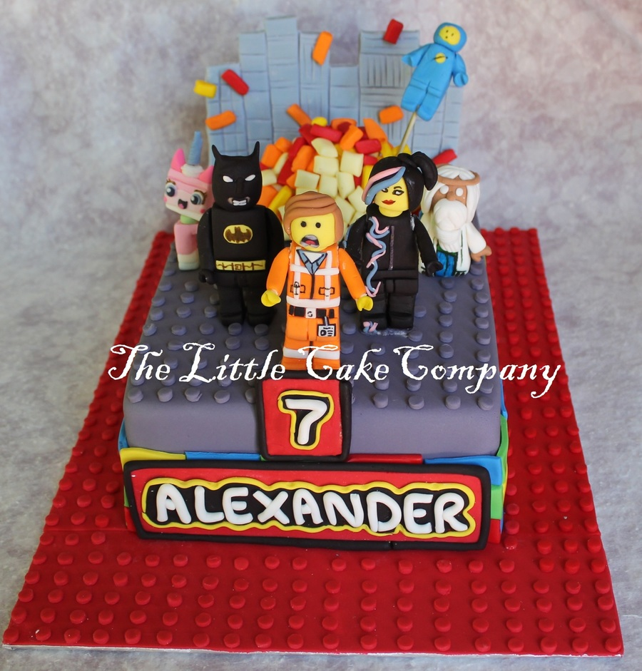 Incredible The Lego Movie Cakecentral Com Birthday Cards Printable Trancafe Filternl