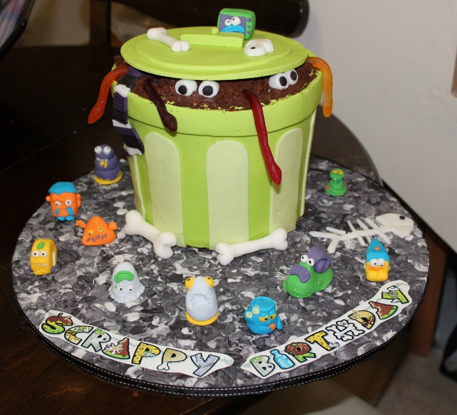My Sons 6th Birthday Cake He Is Obsessed With Trash Pack