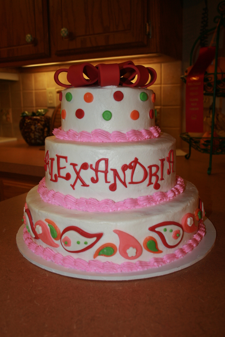 Alexandria's Cake on Cake Central