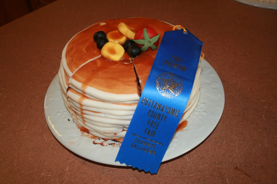First Place In The Fair on Cake Central