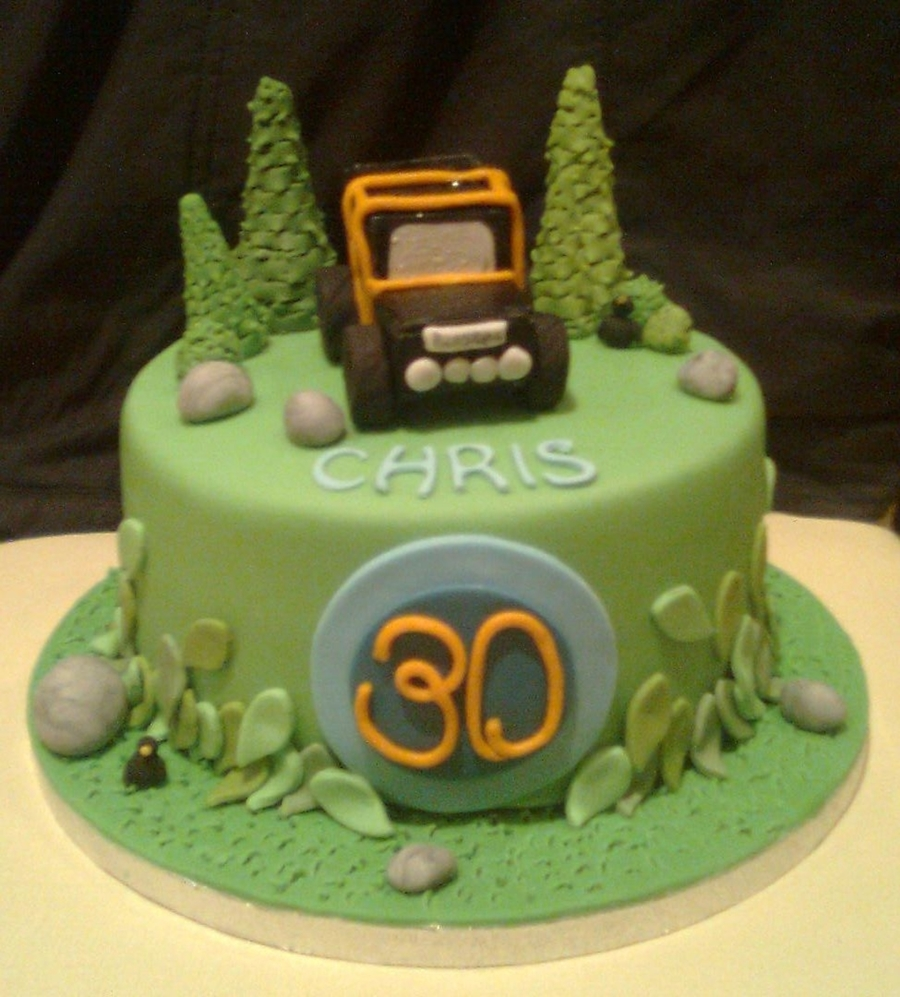 Jeep Birthday Cake Images : Off Road Jeep Cake - CakeCentral.com