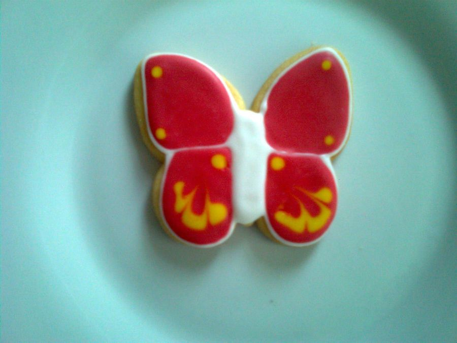 Butterfly Cookie on Cake Central